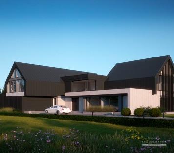 Projekt domu LK&1488