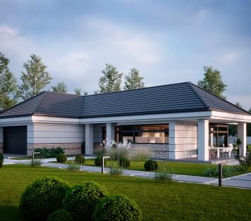 Projekt domu LK&1548