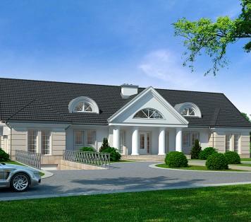 Projekt domu LK&847