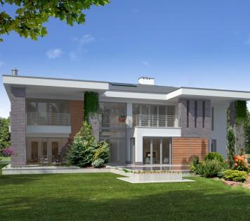 Projekt domu LK&872
