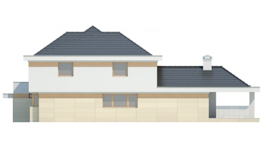 Projekt domu LK&1041