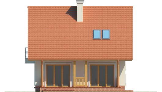 Projekt domu LK&1118