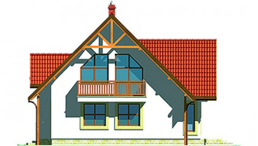 Projekt domu LK&115