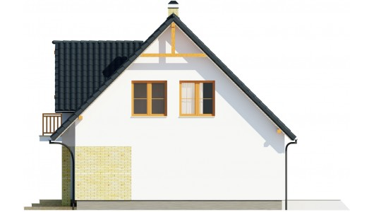 Projekt domu LK&119