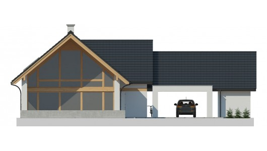 Projekt domu LK&1292