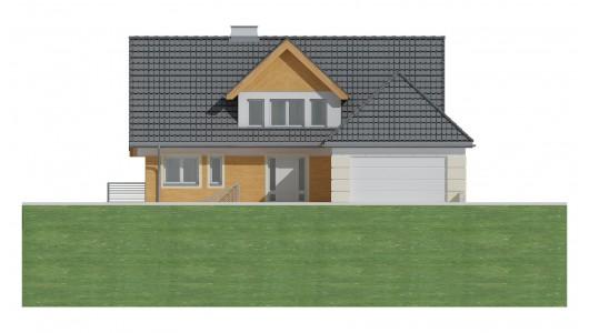 Projekt domu LK&185