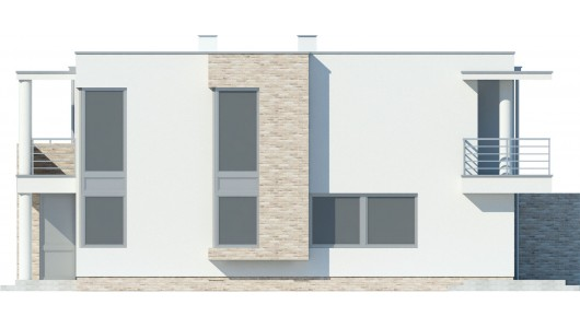 Projekt domu LK&326