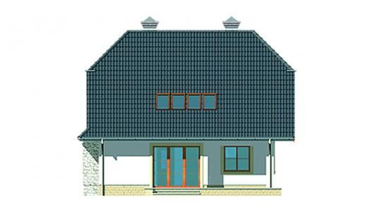 Projekt domu LK&336