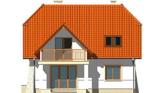Projekt domu LK&393