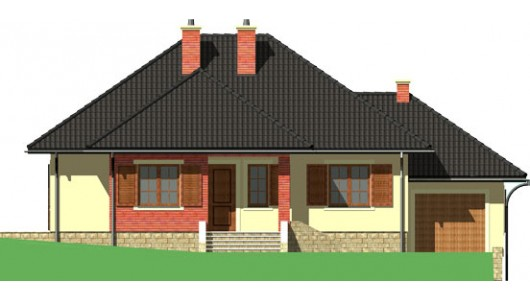 Projekt domu LK&423