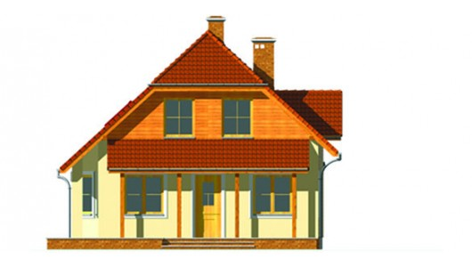 Projekt domu LK&424