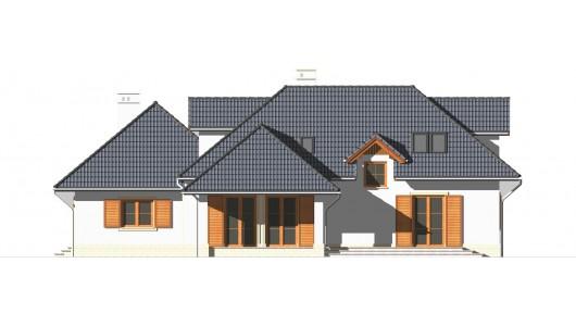Projekt domu LK&458