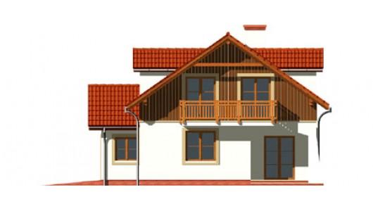 Projekt domu LK&462