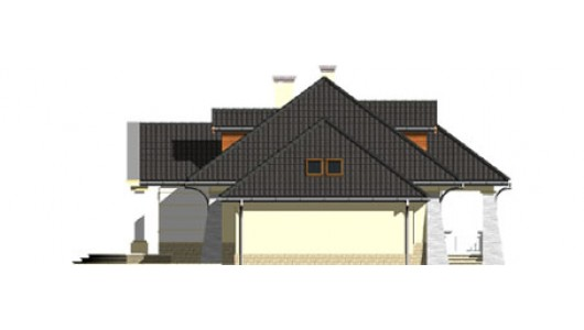 Projekt domu LK&466