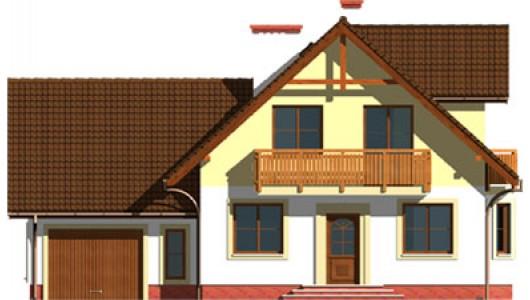 Projekt domu LK&488
