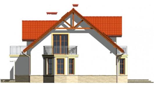 Projekt domu LK&493