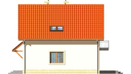 Projekt domu LK&496