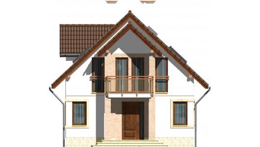 Projekt domu LK&533