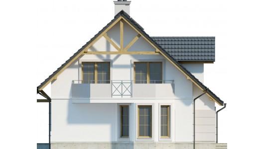 Projekt domu LK&596