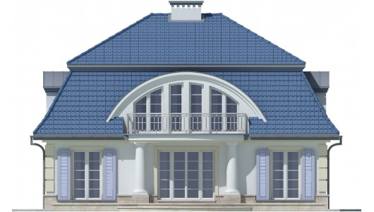 Projekt domu LK&617