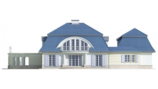 Projekt domu LK&618