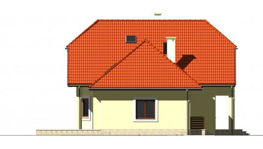 Projekt domu LK&631