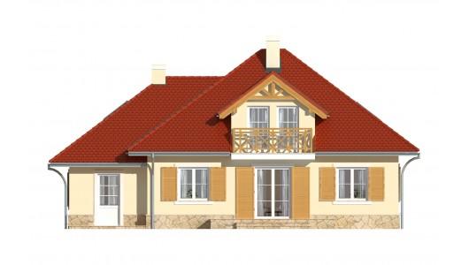 Projekt domu LK&634