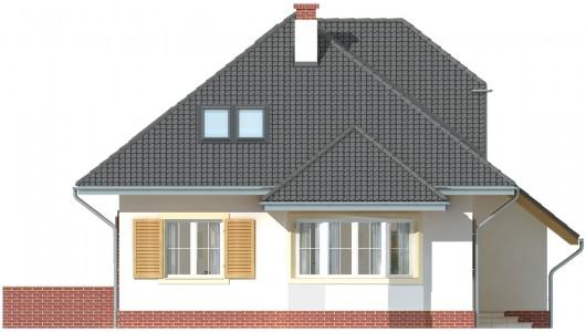 Projekt domu LK&638