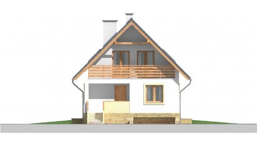 Projekt domu LK&641