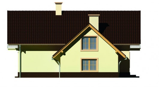 Projekt domu LK&66