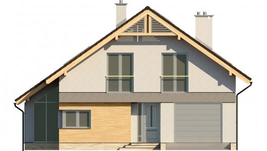 Projekt domu LK&674