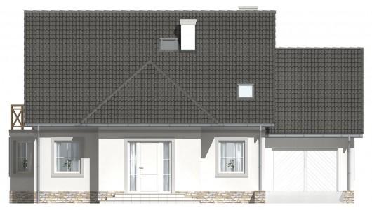Projekt domu LK&675