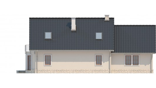 Projekt domu LK&712