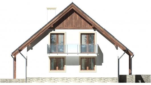 Projekt domu LK&717