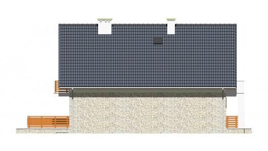 Projekt domu LK&736