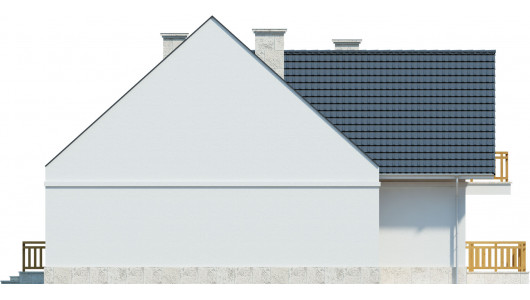 Projekt domu LK&752
