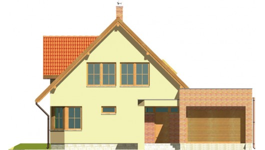 Projekt domu LK&76