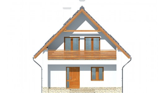 Projekt domu LK&830