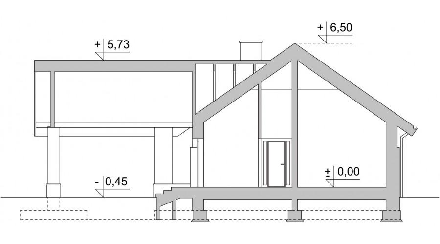 Projekt domu LK&1036