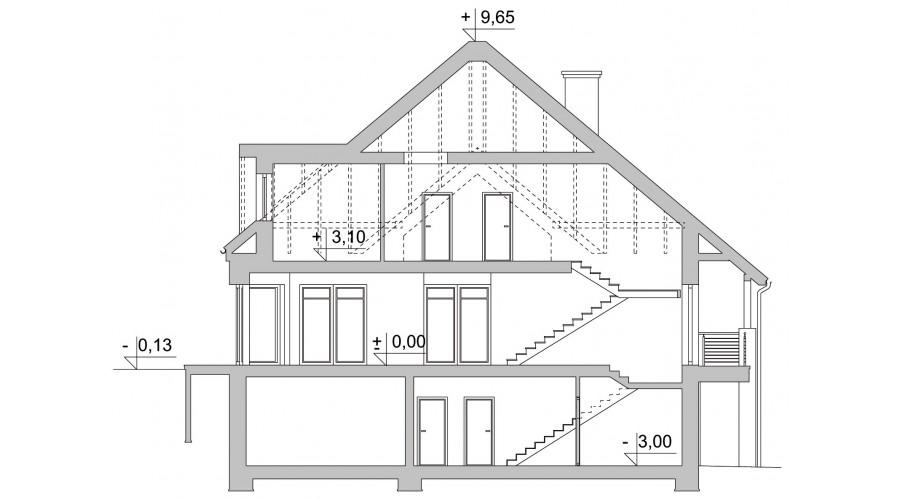 Projekt domu LK&1042