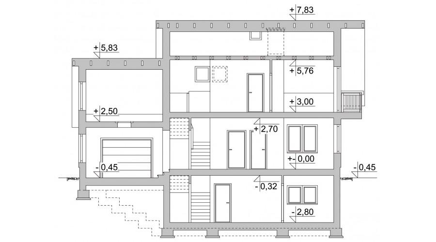 Projekt domu LK&1112