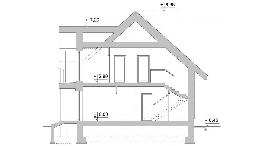 Projekt domu LK&1122