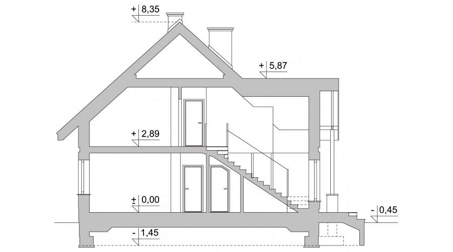 Projekt domu LK&1124
