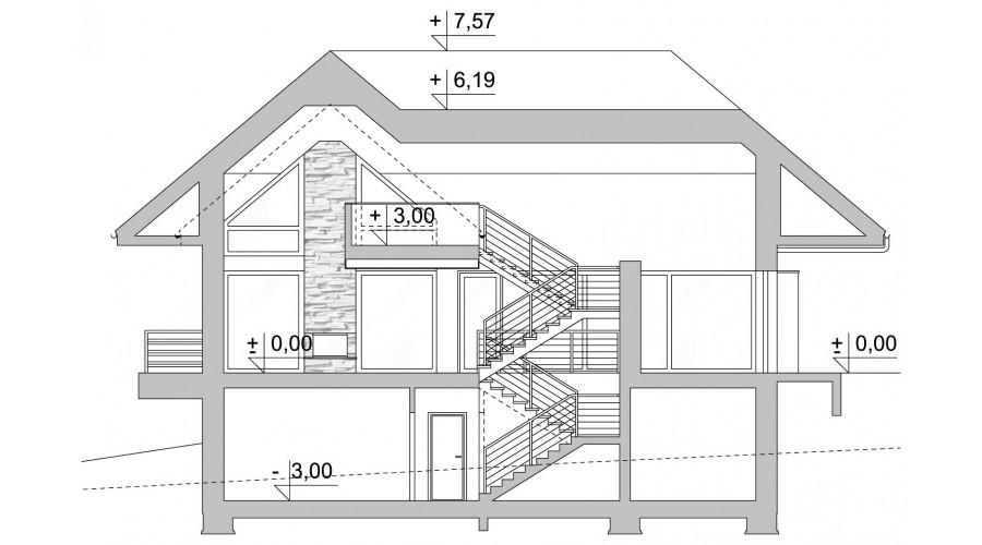 Projekt domu LK&1127