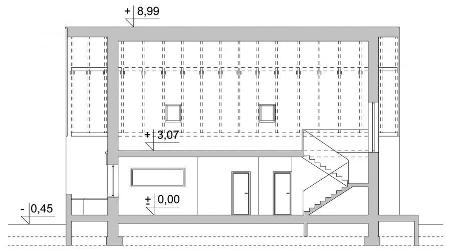 Projekt domu LK&1166