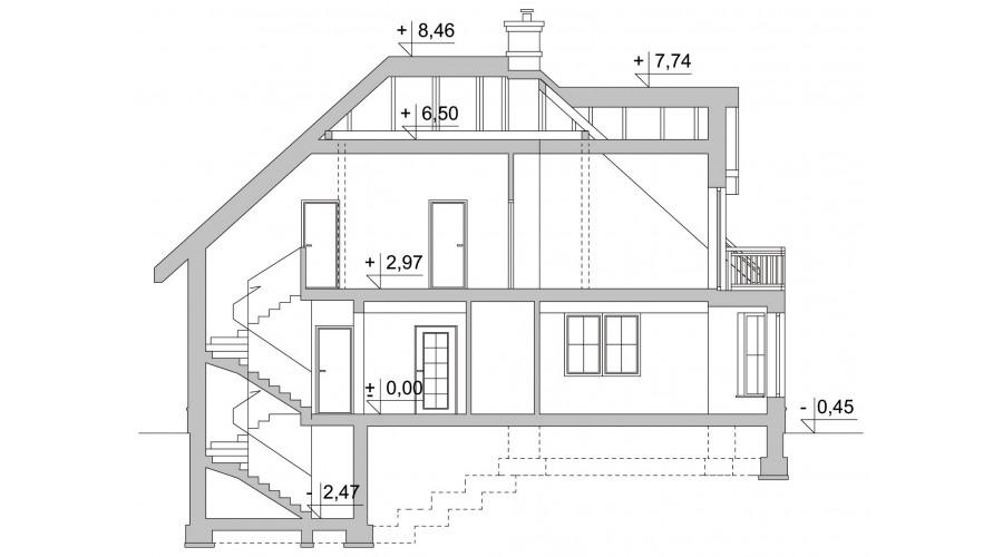Projekt domu LK&117