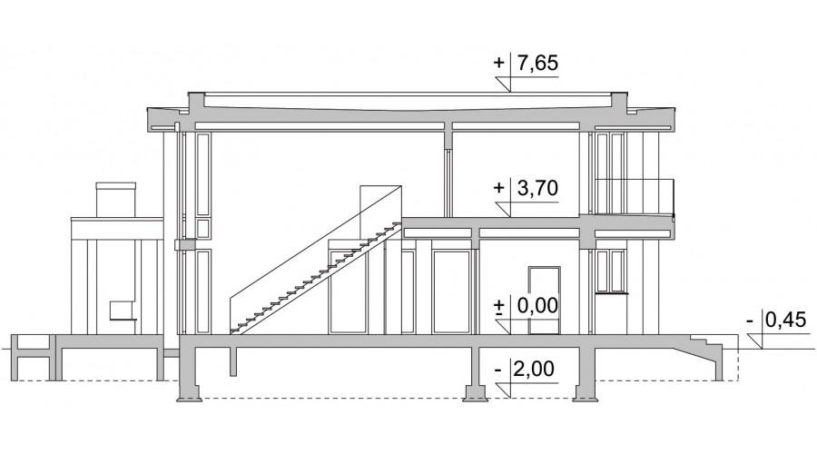 Projekt domu LK&1277