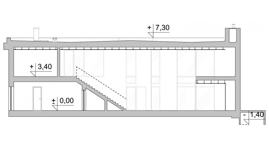 Projekt domu LK&1285