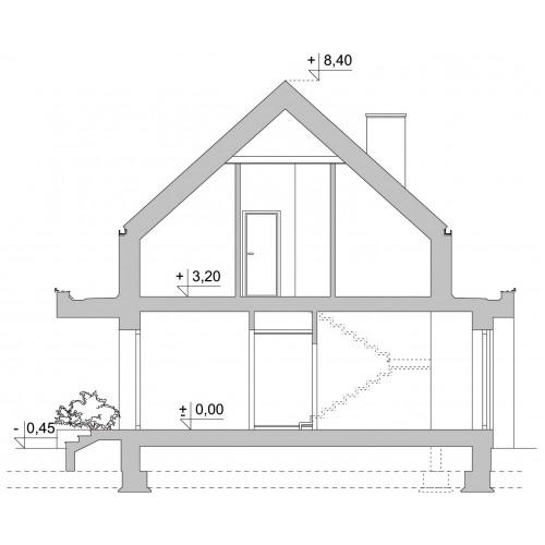 Проект дома LK&1373
