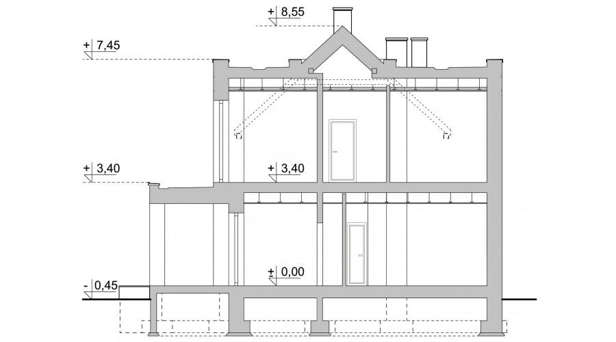 Projekt domu LK&1447